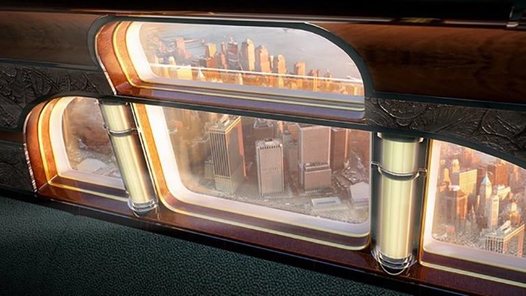 Панорамный иллюминатор «Manhattan Airship»