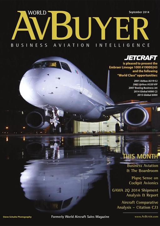 Lineage 1000 на обложках тематических изданий: P1, JetGala и AvBuyer