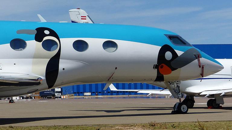 Экстерьер Gulfstream G650