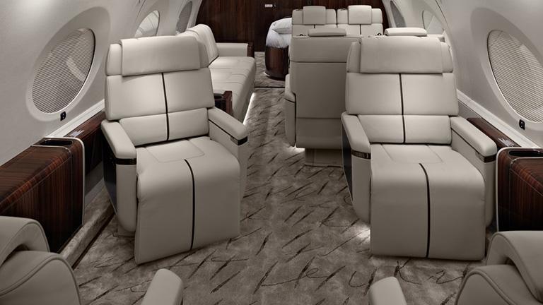 Дизайн салона Gulfstream G650