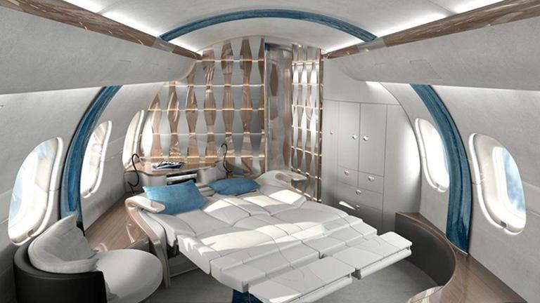 Дизайн спальни Global 6000 Yasava Solutions