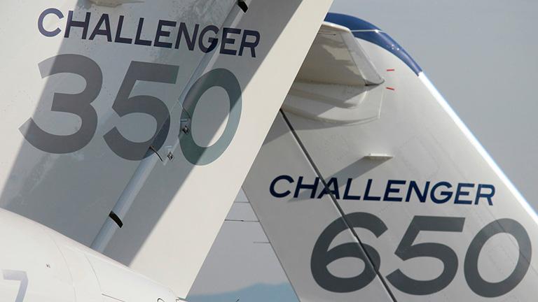 Challenger 350 и Challenger 650