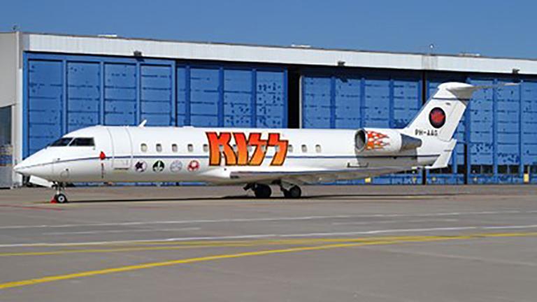 Challenger 850 рок-группы Kiss