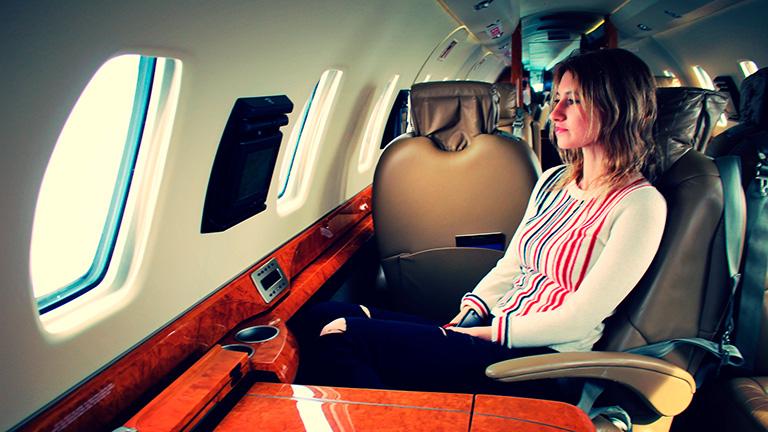 Вращающиеся кресла для более комфортного полёта