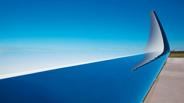 Высокопрочное крыло Citation X