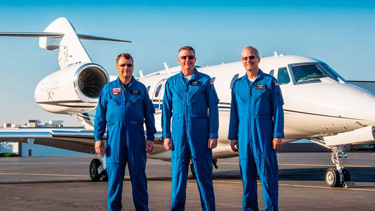 Пилоты Cessna Citation X+