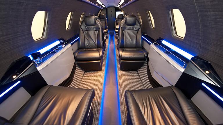 Дизайн салона «Black Edition» для Cessna X+