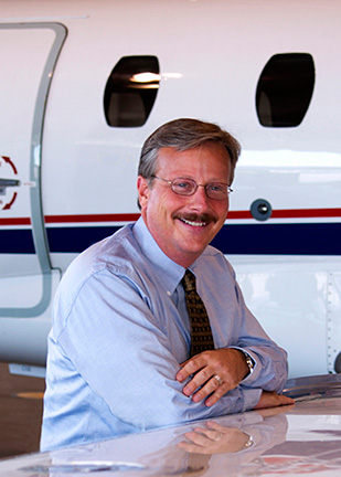 Представитель Cessna Aircraft на NBAA 2016