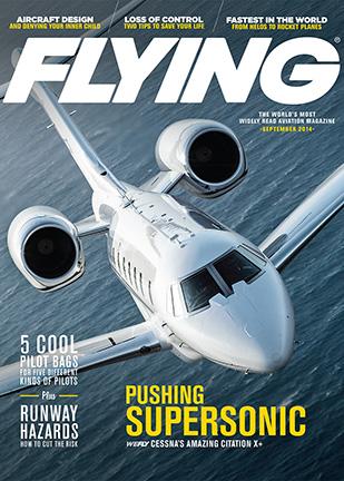 Номер журнала Flying с Cessna X+