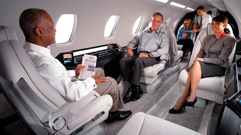 Пассажиры на борту Cessna X