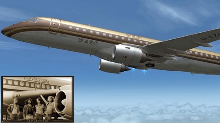 Новый «StarShip» Embraer Lineage 1000 c бортовым номером G-LZPL