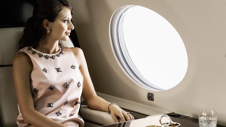 Пассажир на борту  G650