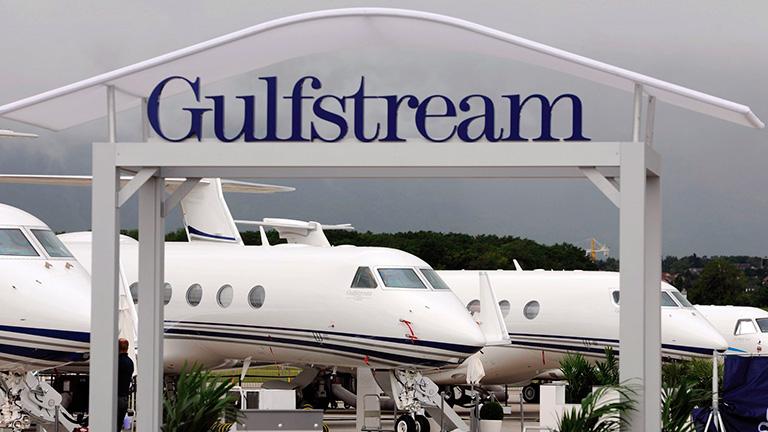 Стенд Gulfstream на EBACE 2014 в Женеве