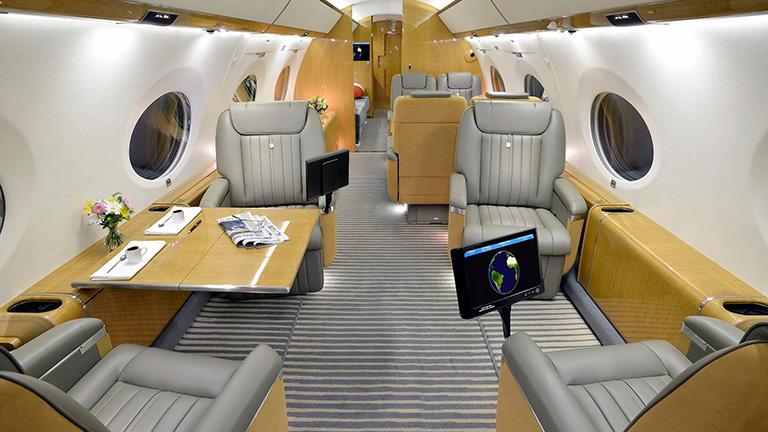 Дизайн салона G650