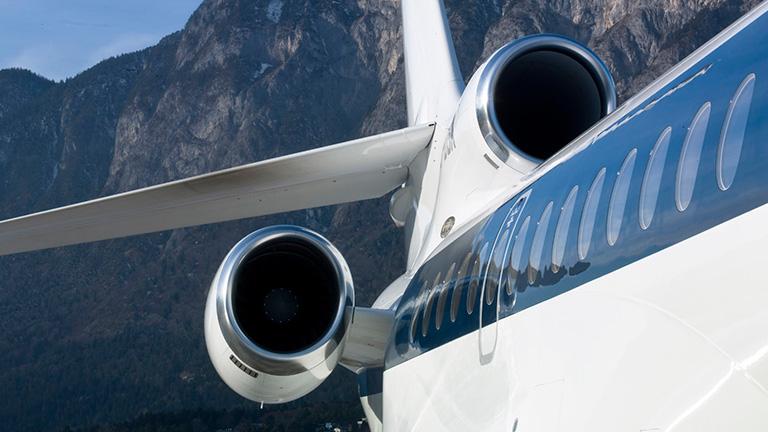 Экстерьер Falcon 7X  NetJets