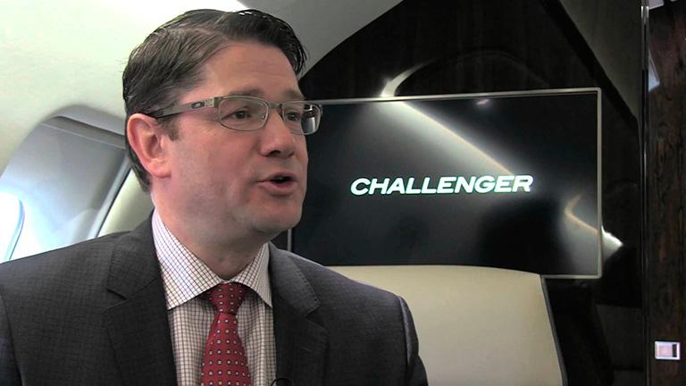 Эрик Мартель, президент Bombardier Business Aircraft