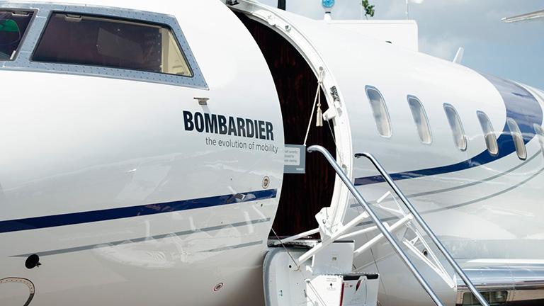 Экстерьер Bombardier Challenger 650