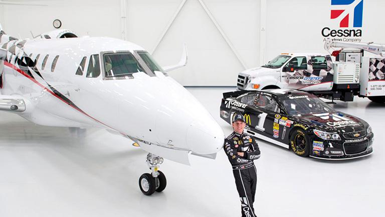 Пилоты NASCAR предпочитают Citation X