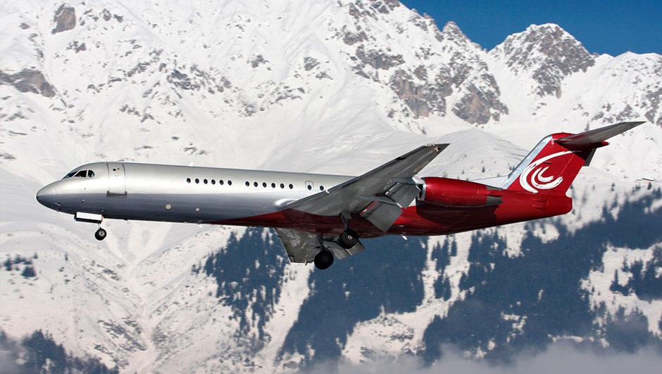 F100 Executive Jet